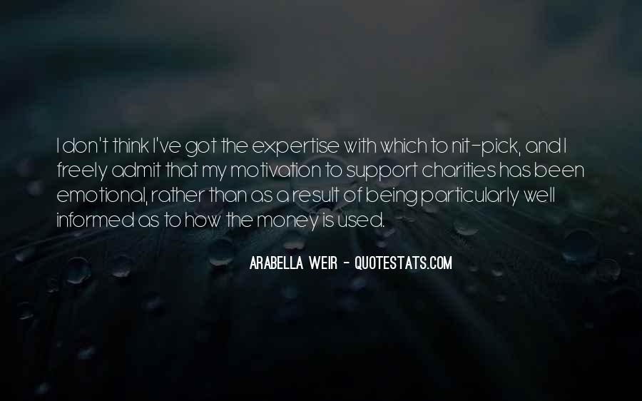 Arabella Weir Quotes #857159