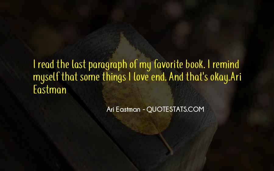 Ari Eastman Quotes #477805
