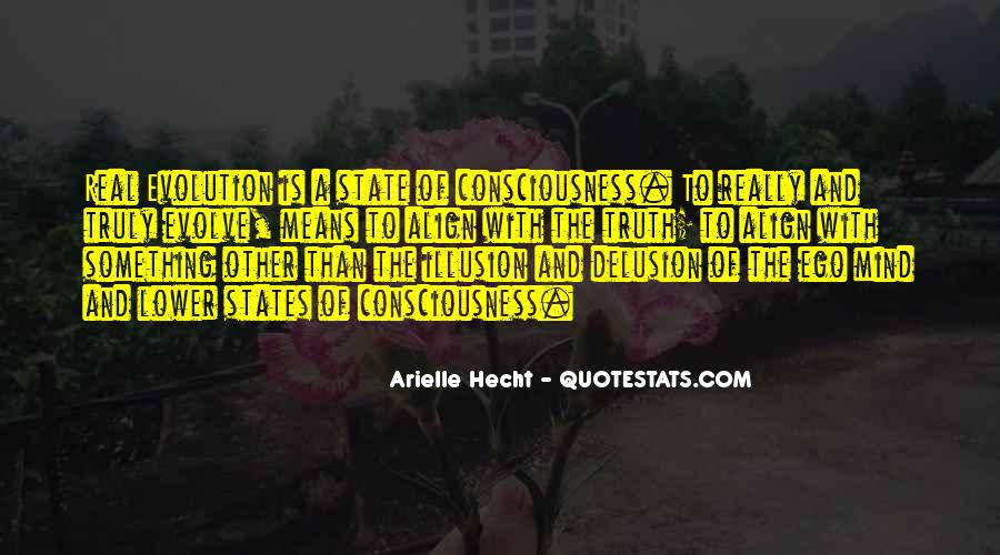 Arielle Hecht Quotes #769964