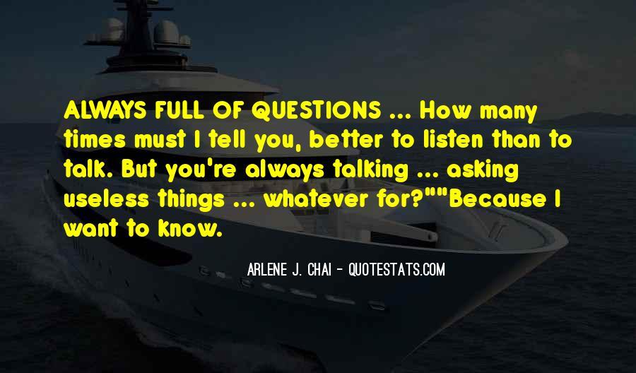 Arlene J. Chai Quotes #779824
