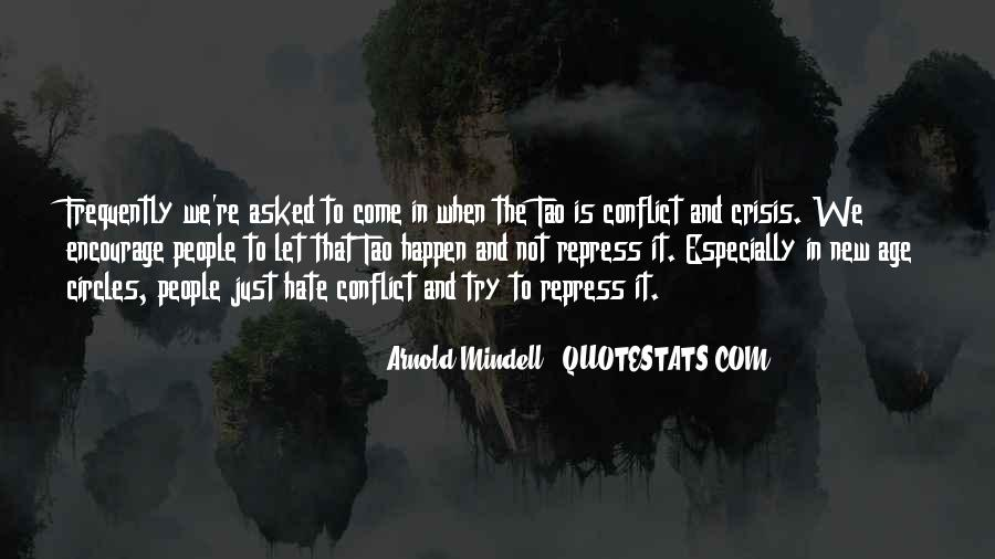 Arnold Mindell Quotes #820917