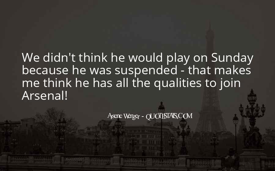 Arsene Wenger Quotes #1123776