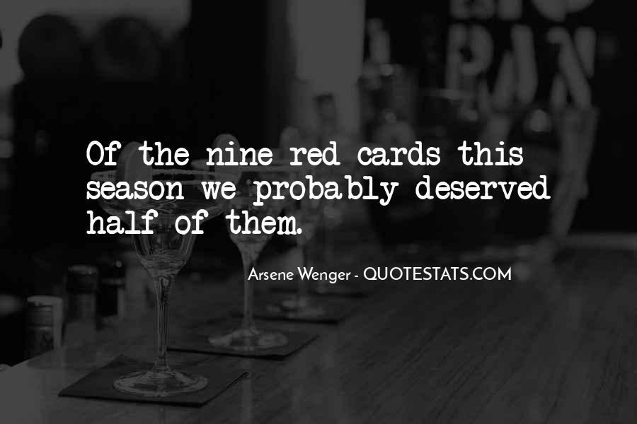 Arsene Wenger Quotes #1570420