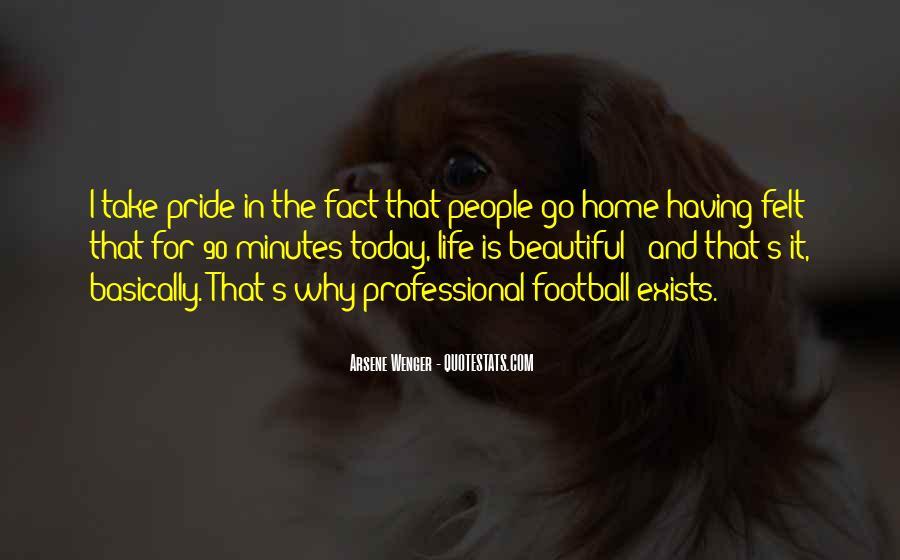 Arsene Wenger Quotes #1608681