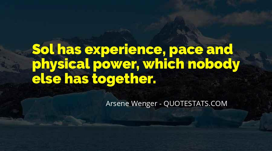 Arsene Wenger Quotes #1754239