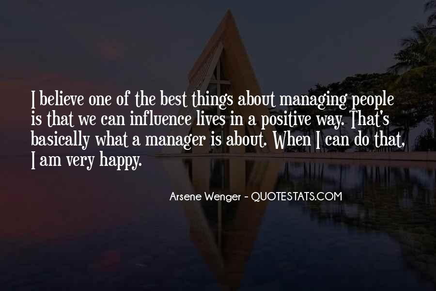 Arsene Wenger Quotes #1779020
