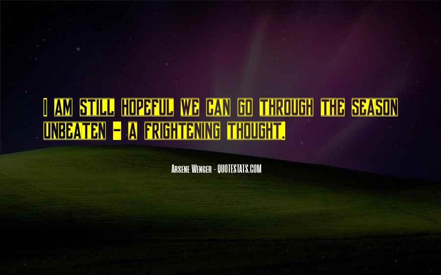 Arsene Wenger Quotes #196681
