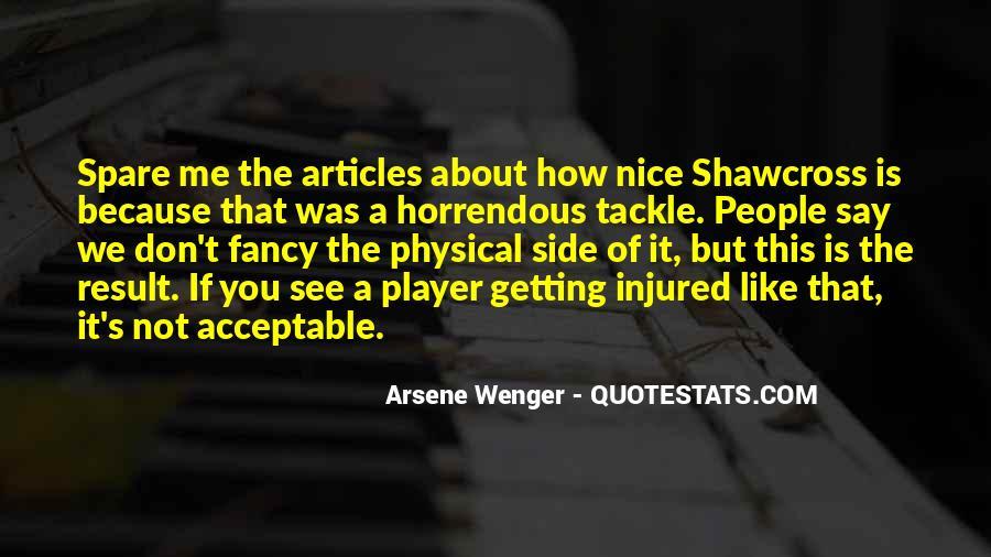Arsene Wenger Quotes #221603