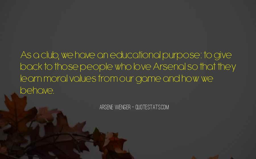 Arsene Wenger Quotes #229259