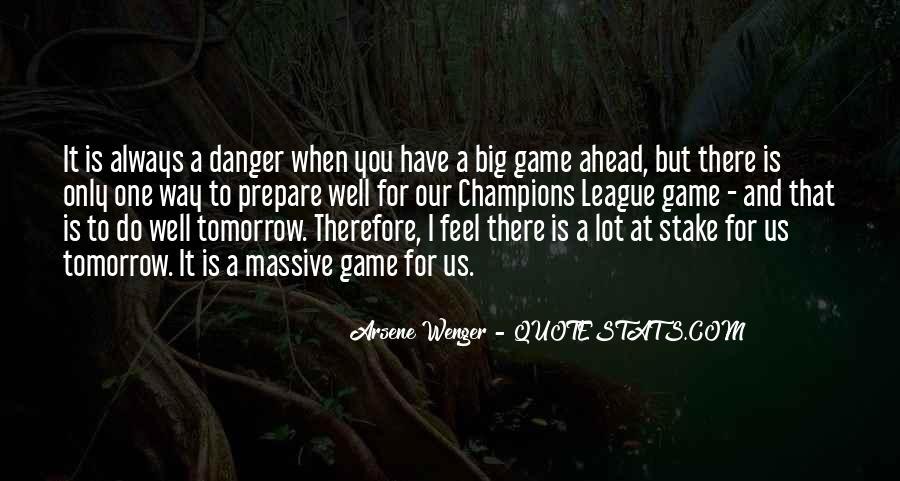 Arsene Wenger Quotes #255290