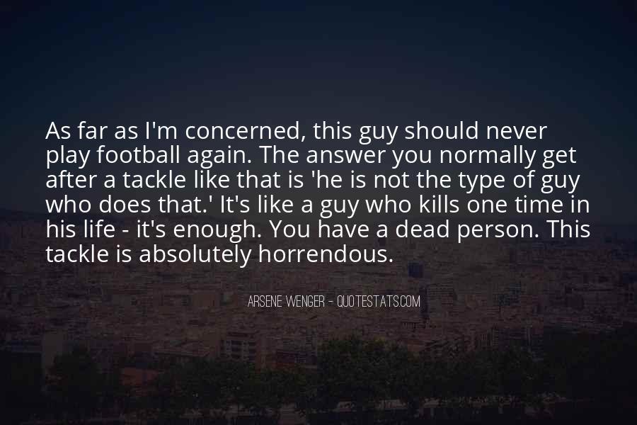 Arsene Wenger Quotes #28324