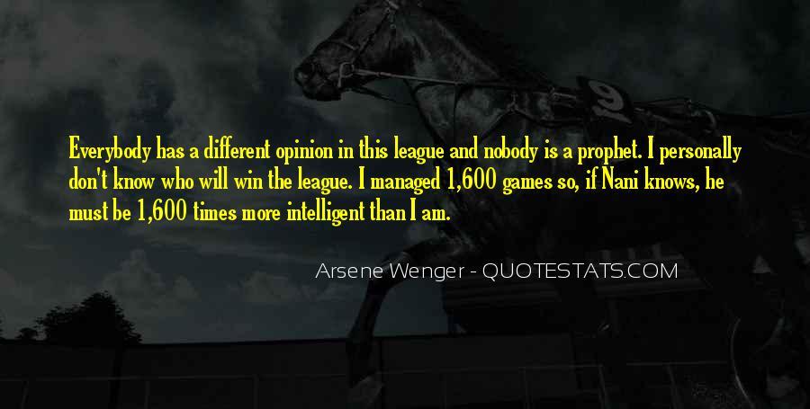 Arsene Wenger Quotes #285683