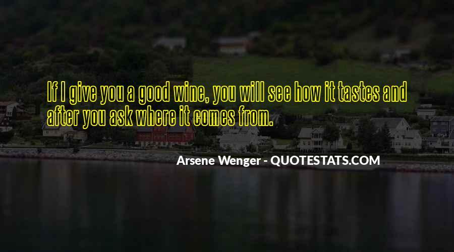 Arsene Wenger Quotes #289993