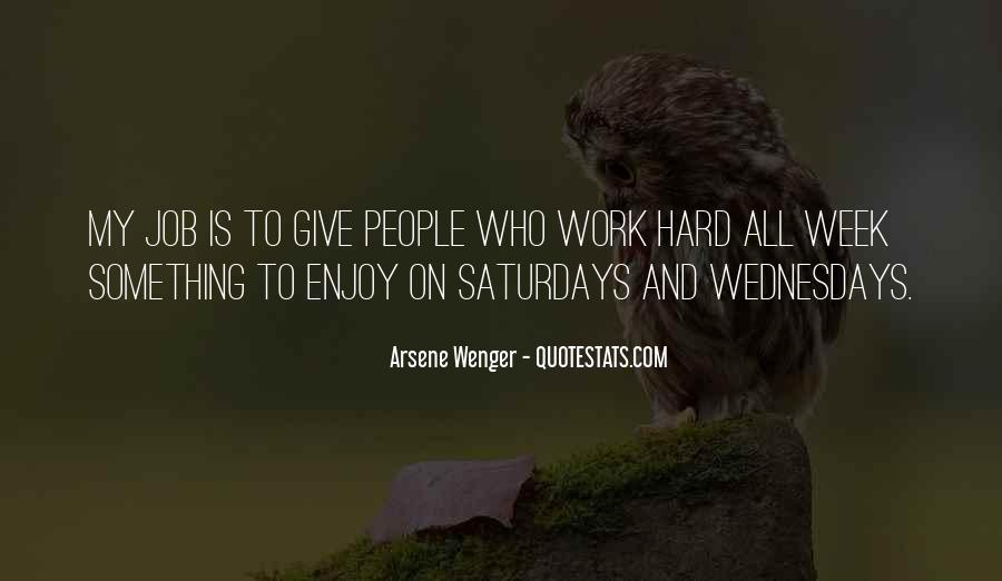 Arsene Wenger Quotes #299766