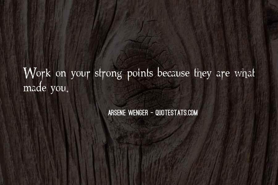 Arsene Wenger Quotes #471076
