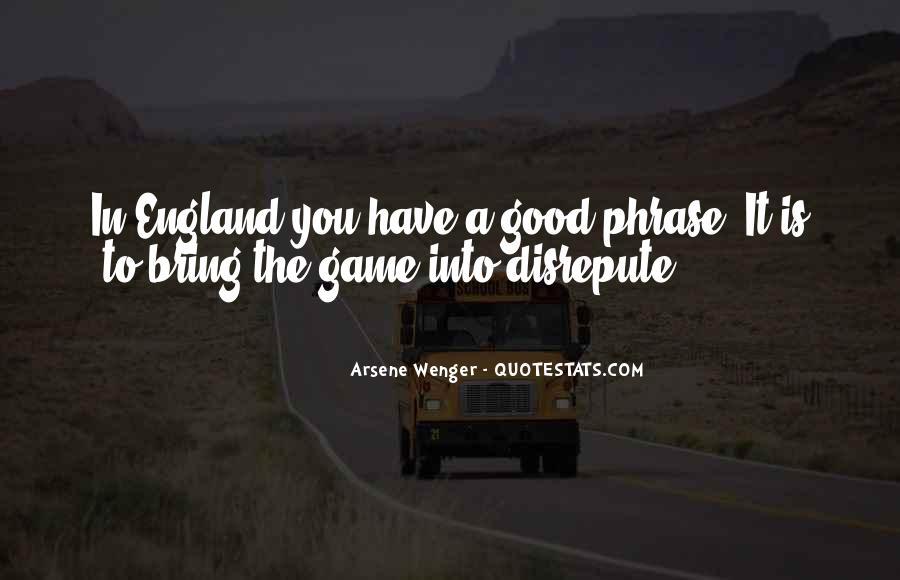 Arsene Wenger Quotes #738782