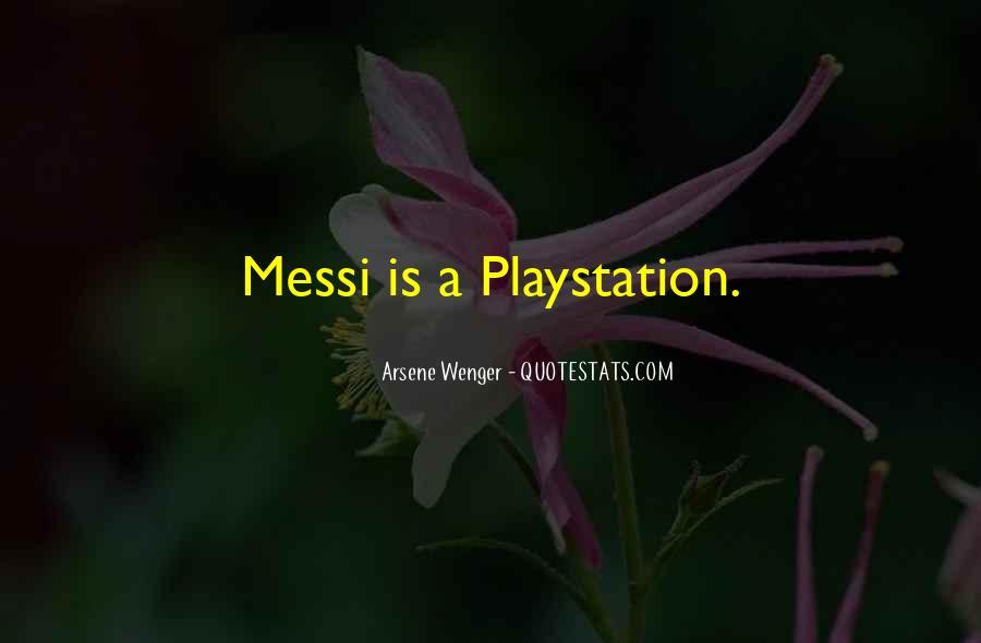 Arsene Wenger Quotes #858145