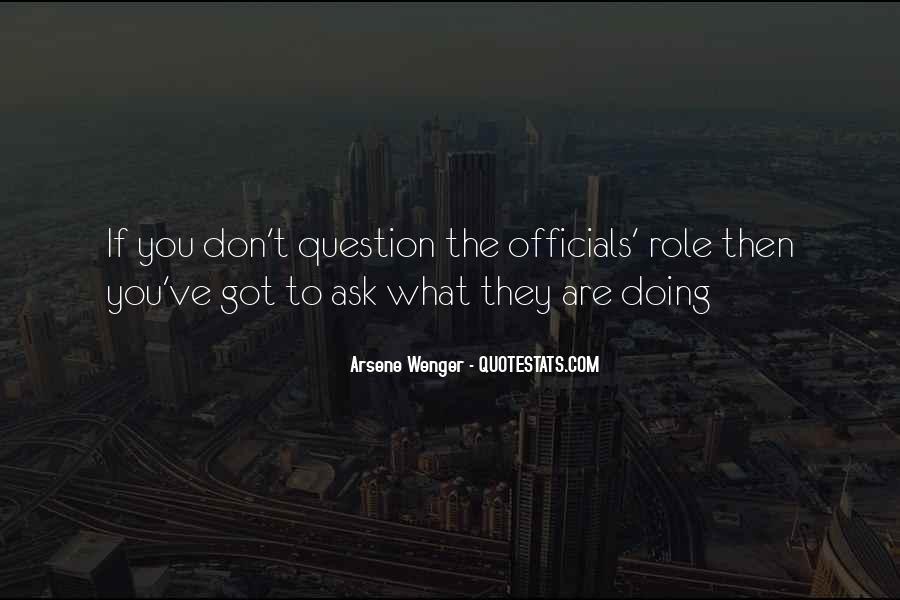 Arsene Wenger Quotes #886092