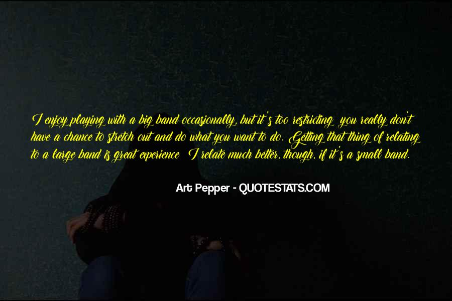 Art Pepper Quotes #187772