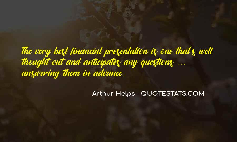 Arthur Helps Quotes #170898