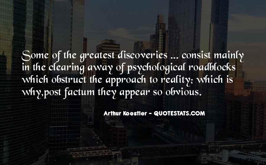 Arthur Koestler Quotes #1481636