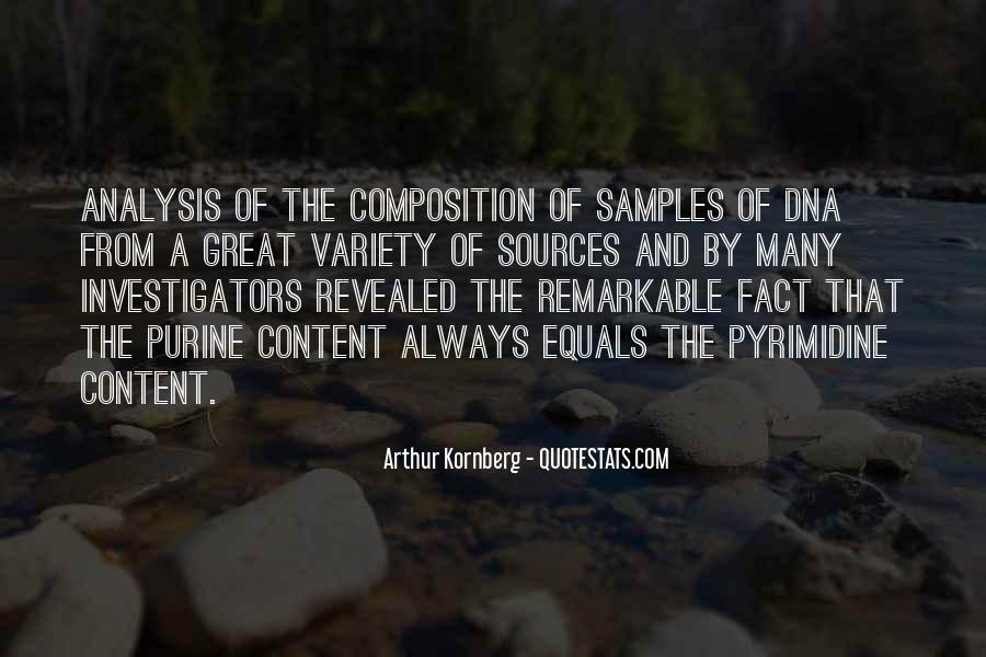 Arthur Kornberg Quotes #1049873