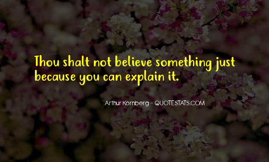 Arthur Kornberg Quotes #872508