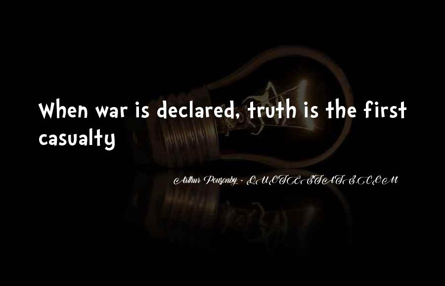 Arthur Ponsonby Quotes #1659258