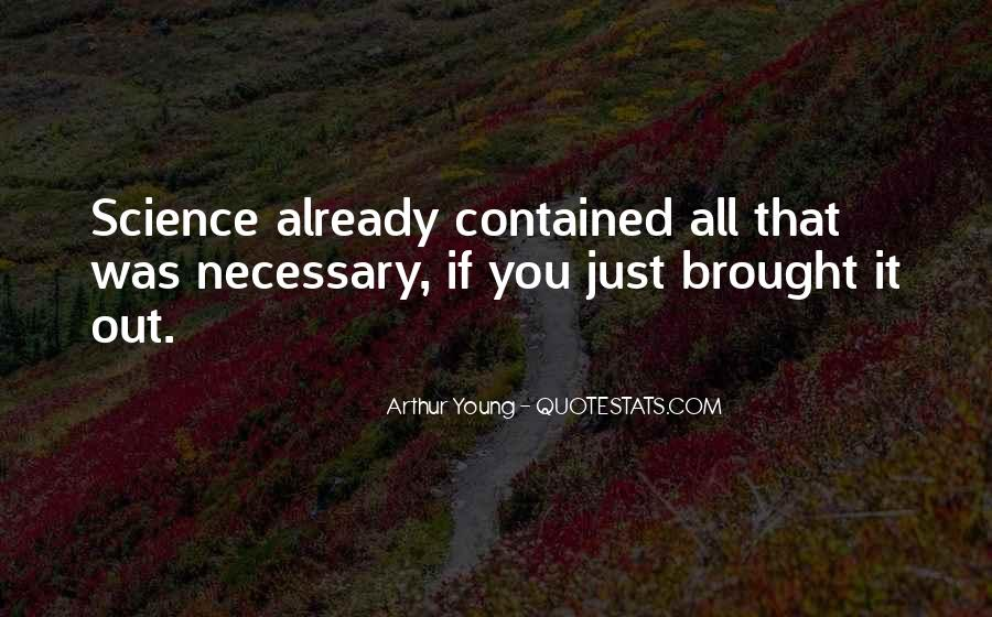Arthur Young Quotes #471872