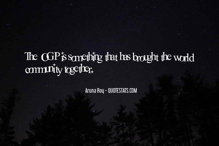 Aruna Roy Quotes #1162446