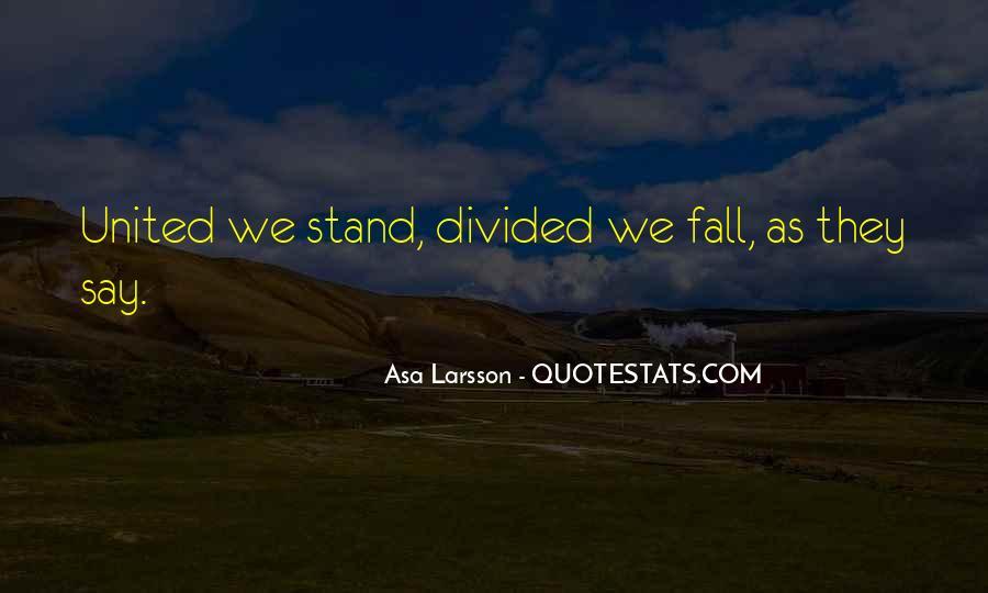 Asa Larsson Quotes #1033891