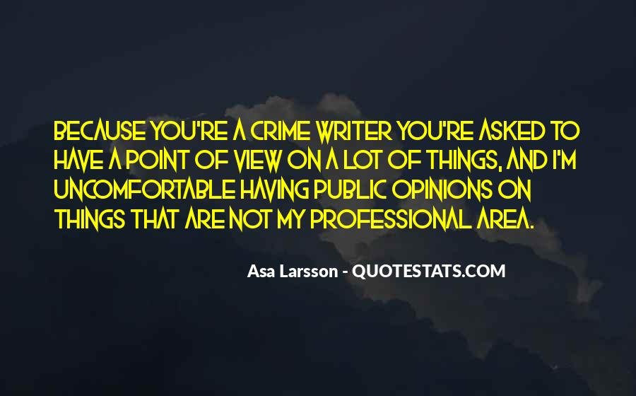 Asa Larsson Quotes #1121125