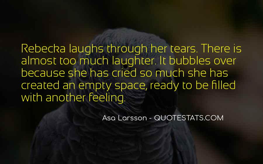 Asa Larsson Quotes #1291457