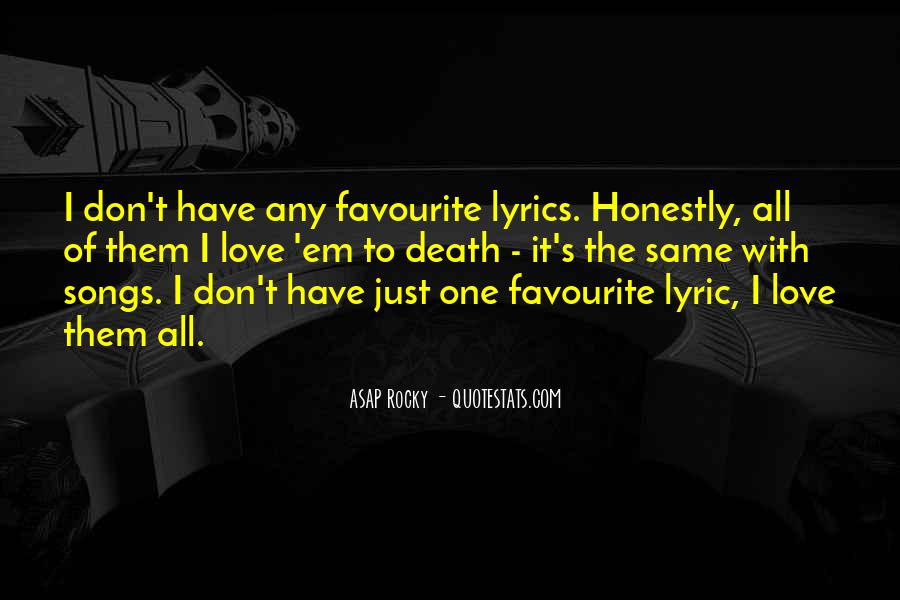 ASAP Rocky Quotes #135539