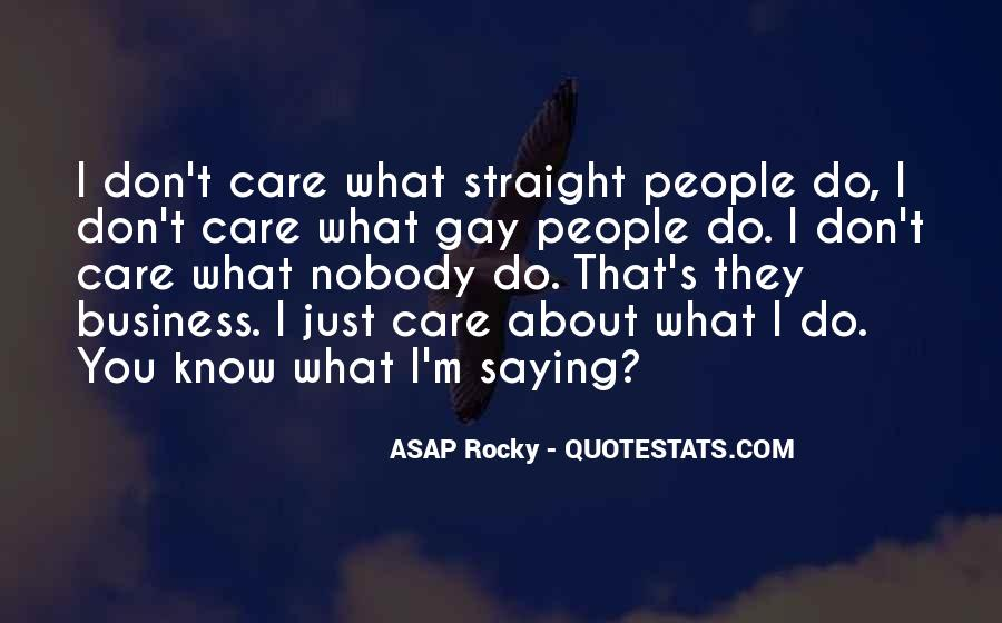 ASAP Rocky Quotes #294798