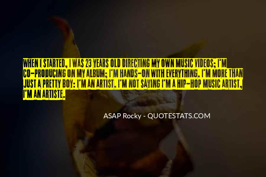 ASAP Rocky Quotes #476109