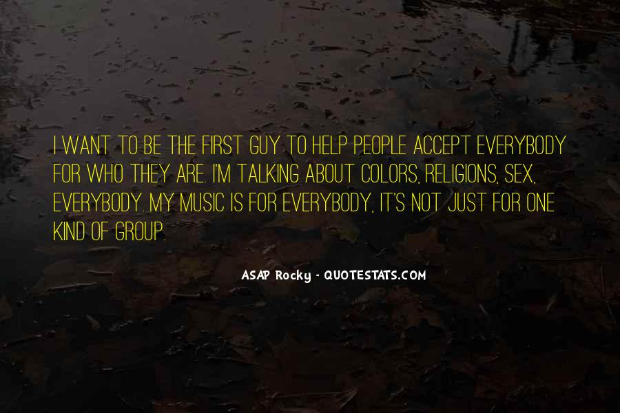 ASAP Rocky Quotes #647621