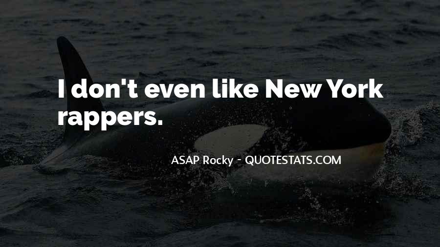 ASAP Rocky Quotes #795788