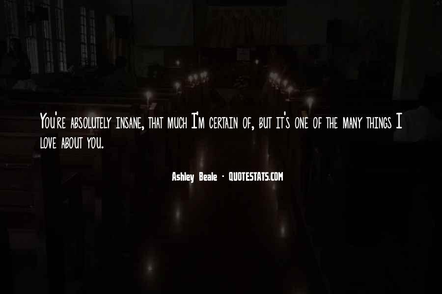 Ashley Beale Quotes #1799635