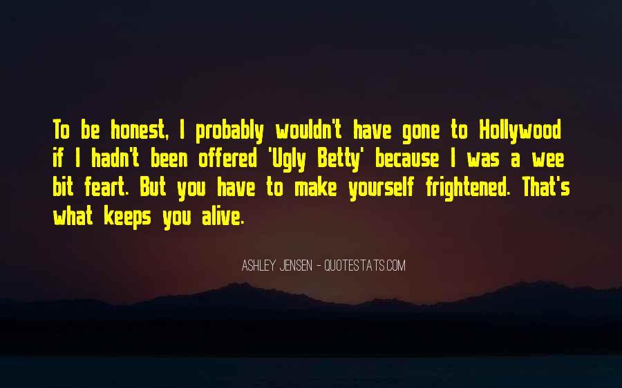 Ashley Jensen Quotes #54497