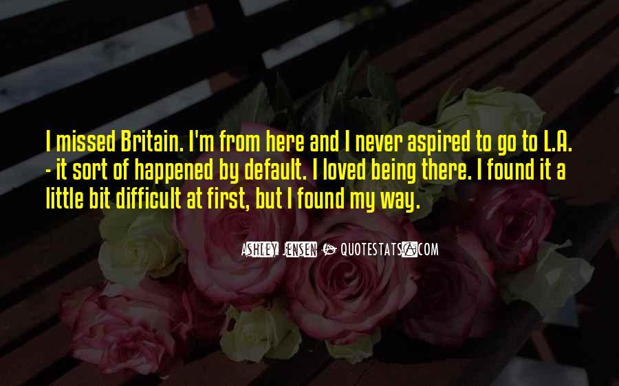 Ashley Jensen Quotes #822049