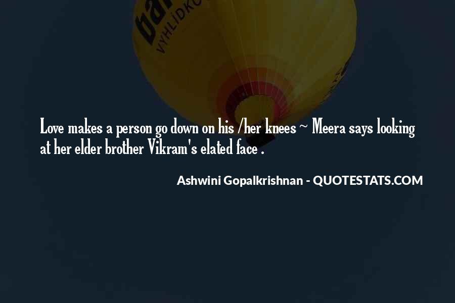 Ashwini Gopalkrishnan Quotes #1204150