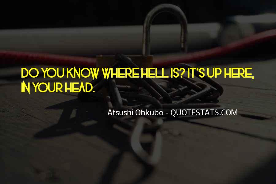 Atsushi Ohkubo Quotes #389986
