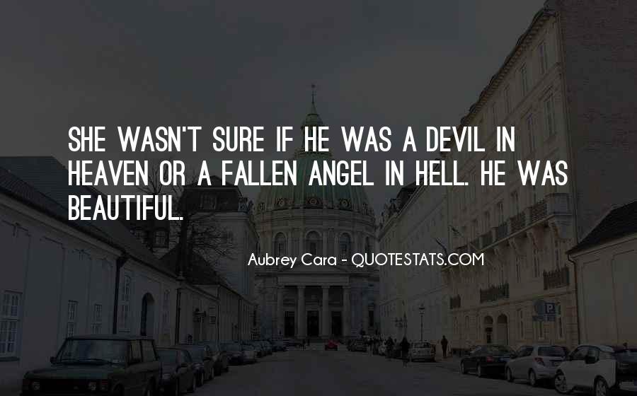 Aubrey Cara Quotes #1045011