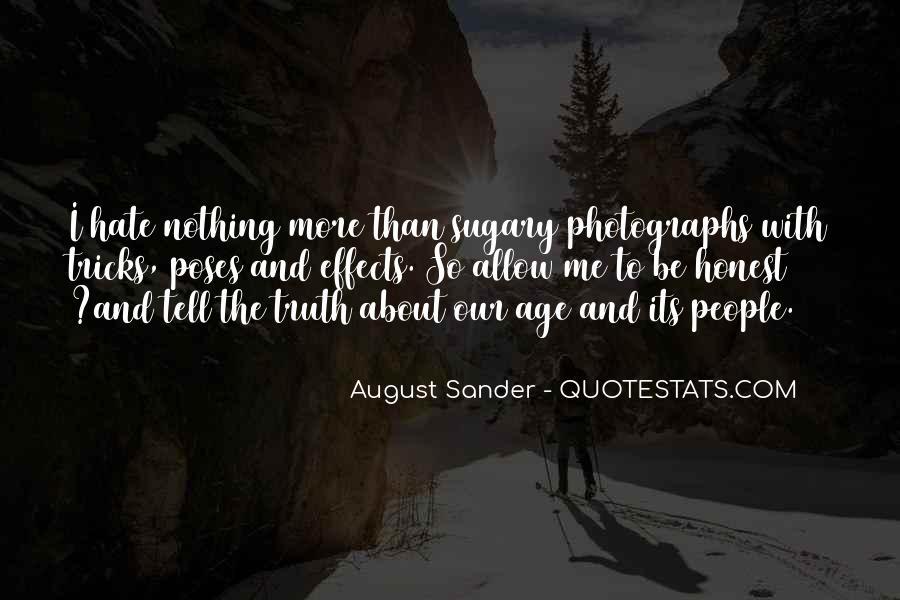 August Sander Quotes #1591106