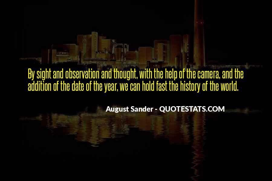 August Sander Quotes #1681097