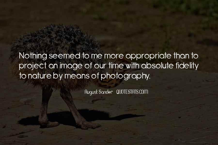 August Sander Quotes #277446