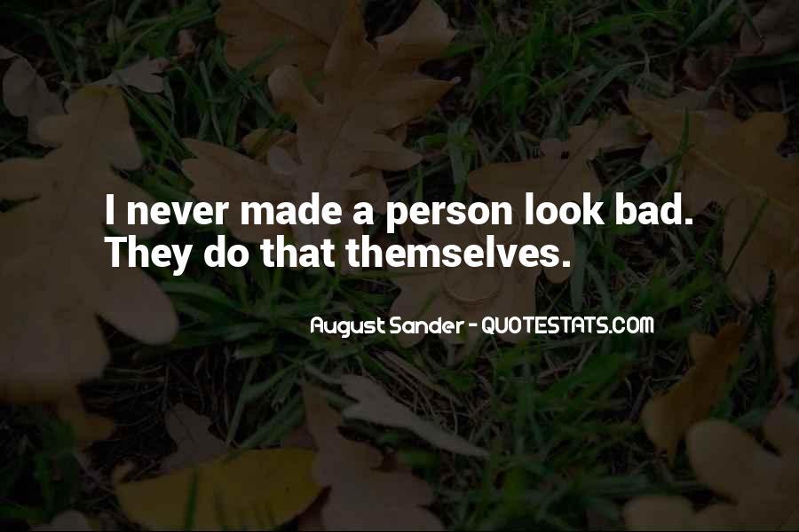 August Sander Quotes #732026