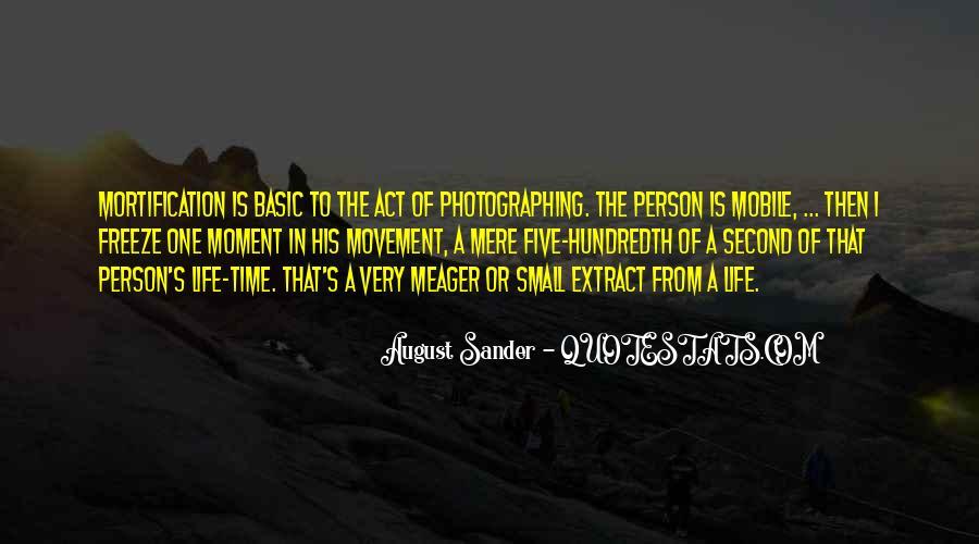 August Sander Quotes #86765