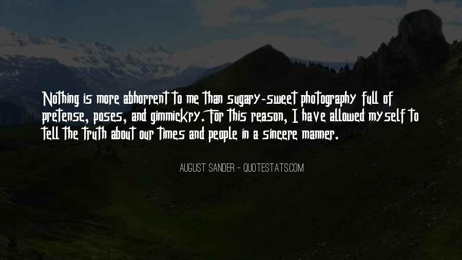 August Sander Quotes #883382